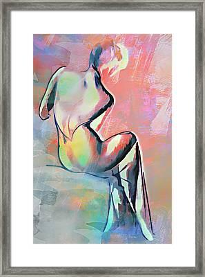 Fashion Framed Print by Andrzej Szczerski