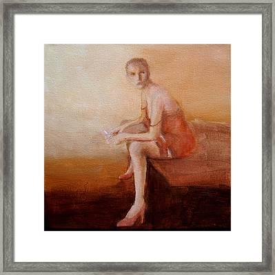 Female Feel-male Gaze Framed Print by Jea DeVoe