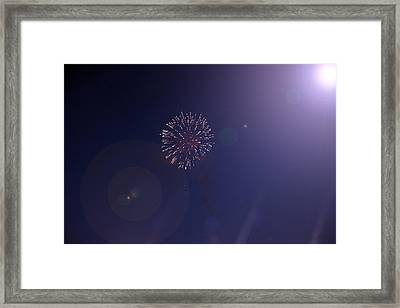 Fireworks Framed Print by Guillermo Mason