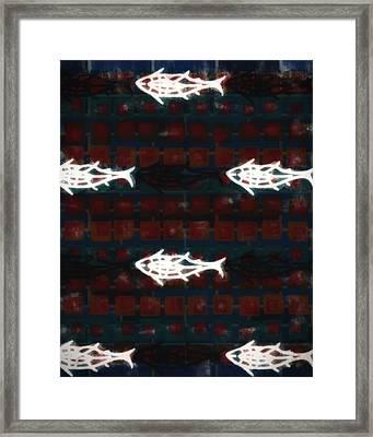 Fishslike Framed Print by Tommytechno Sweden