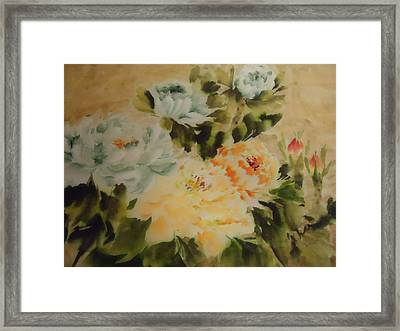 Flower 0727-3 Framed Print