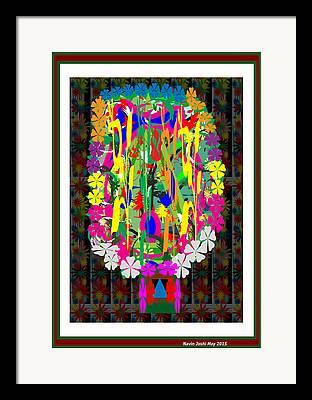 Banquet Mixed Media Framed Prints