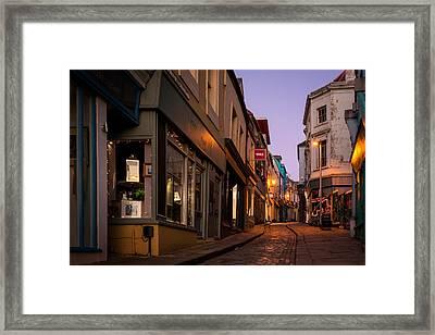 Folkestone Framed Print