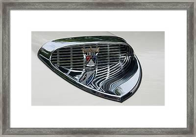 Ford Chrome 13124 Framed Print by Guy Whiteley