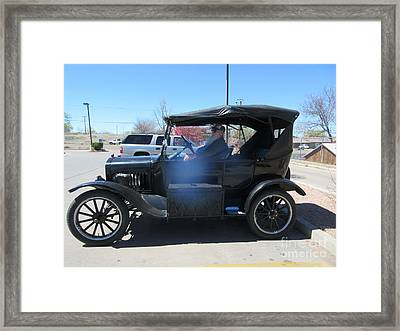 Ford Model T Framed Print by Frederick Holiday