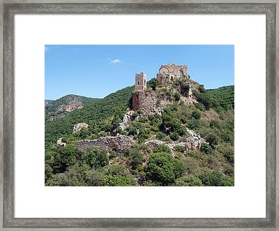 Fortress  Monfort Framed Print by Arik Baltinester