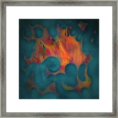 Fragments Of My Imagination Framed Print by Kevin Caudill