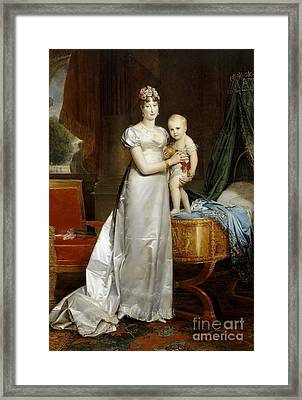 France And Queen Of Rome Framed Print by MotionAge Designs