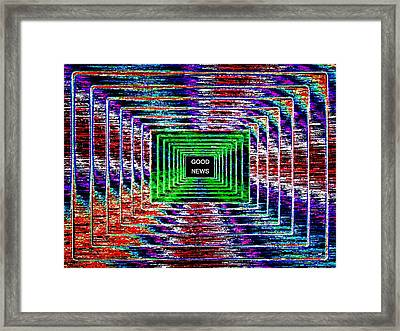 Good News  Framed Print by Will Borden