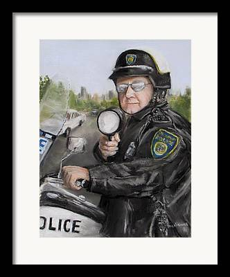 Policework Framed Prints