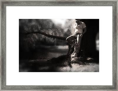 ... Framed Print by Gray  Artus
