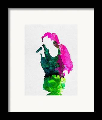 Gwen Stefani Framed Prints