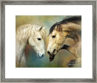 Framed Print featuring the digital art  Heat  by Trudi Simmonds