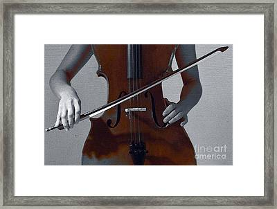 Her Evening Gown  Framed Print by Steven  Digman