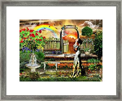 Holy Adoration  Framed Print