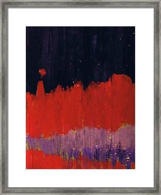 Horizon Unknown Framed Print by Anne-Elizabeth Whiteway