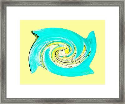 Hurricane Jane Framed Print by Marsha Heiken