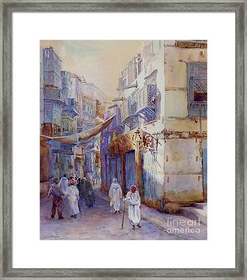 Hurrying Home Framed Print