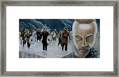 I Am Ragnar Lothbrok Framed Print