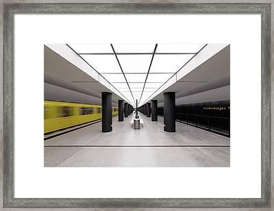 > |i I| < Framed Print by Markus Kuhne