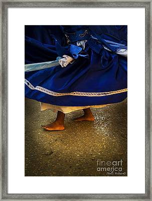 In Motion Framed Print by Phyllis Webster