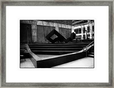 In The Abstract Framed Print
