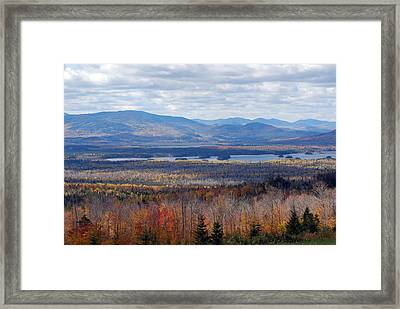 In The Distance Framed Print by Clay Peters Photography
