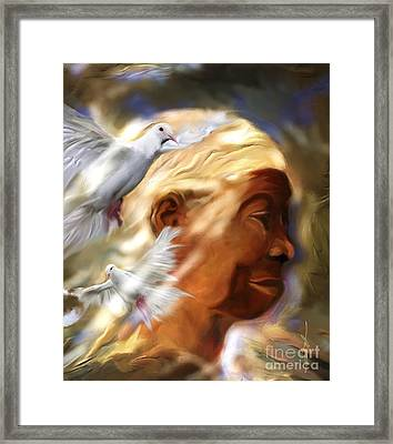 In The Spirit Framed Print