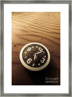 In Waves Of Lost Time Framed Print by Jorgo Photography - Wall Art Gallery