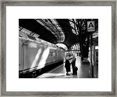 It Is Not The Last Trip Framed Print by JM Ardevol