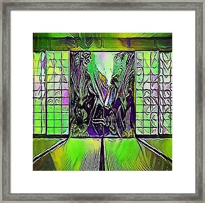 Japan Doors - My Www Vikinek-art.com Framed Print by Viktor Lebeda