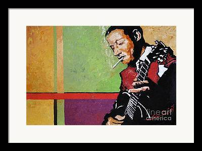 Jazz Artwork Framed Prints