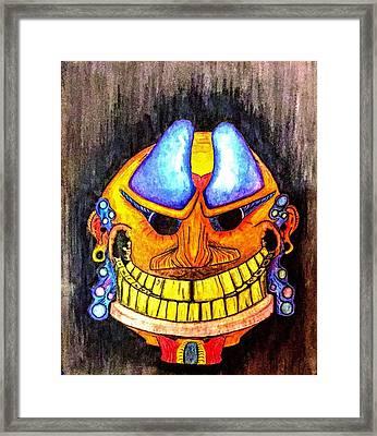 Chief  Framed Print by Jonathan Burdett
