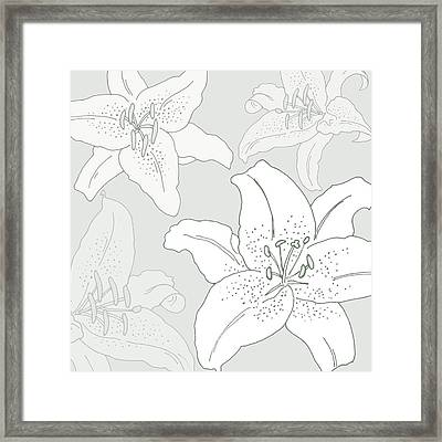 Juliette Framed Print