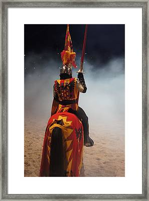 Knight  Framed Print by Art Spectrum