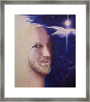 L Framed Print by Lisa Rose Musselwhite