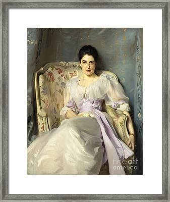 Lady Agnew Of Lochnaw Framed Print by MotionAge Designs
