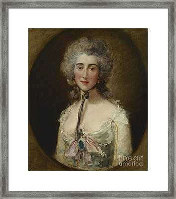 Lady Elliot  Gainsborough Framed Print