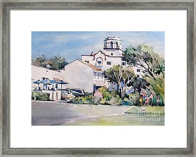 Laguna Beach Hotel - California Framed Print