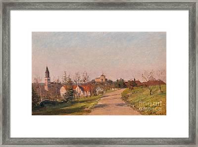 Landscape From Turku Framed Print by Celestial Images