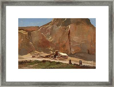 Landscape In The Orient Framed Print by Celestial Images