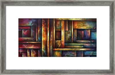 ' Levels Of Order ' Framed Print