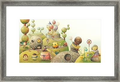 Lisas Journey06 Framed Print by Kestutis Kasparavicius