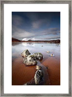 Lochan Na H-achlaise Framed Print by Grant Glendinning