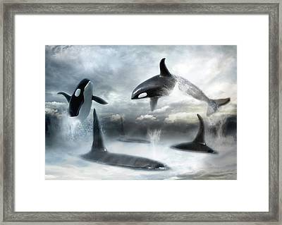 Lost Horizons Framed Print by Trudi Simmonds