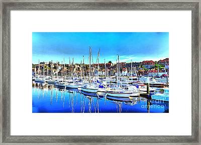 Marina Framed Print by Mylinda Revell