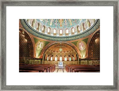Memorial Chapel Framed Print by Art Spectrum