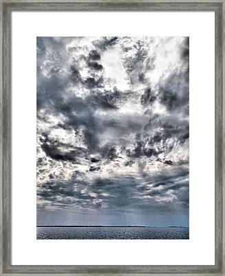 Framed Print featuring the photograph  Mental Seaview by Jouko Lehto