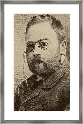 Mile Edouards Charles Antoine Zola Framed Print