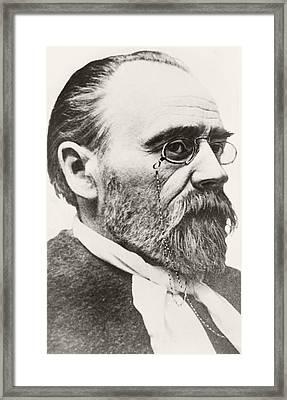 Mile Fran Ois Zola, 1840 To 1902 Framed Print